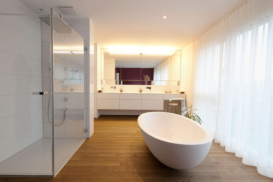 Badezimmer: Dusche oder Bad? - Ammann AG
